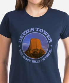 Devils Tower (rd) T-Shirt