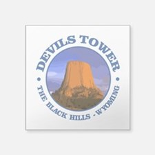 Devils Tower (rd) Sticker