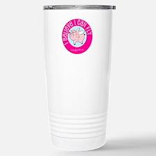 Believe Flying Pig Stainless Steel Travel Mug