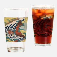 Cute Oriental Drinking Glass