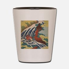 Cute Oriental Shot Glass