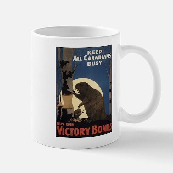 Vintage poster - Victory Bonds Mugs