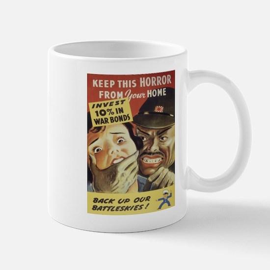 Vintage poster - War Bonds Mugs