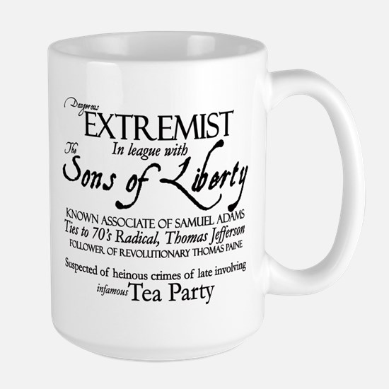 Dangerous Extremist! Mugs