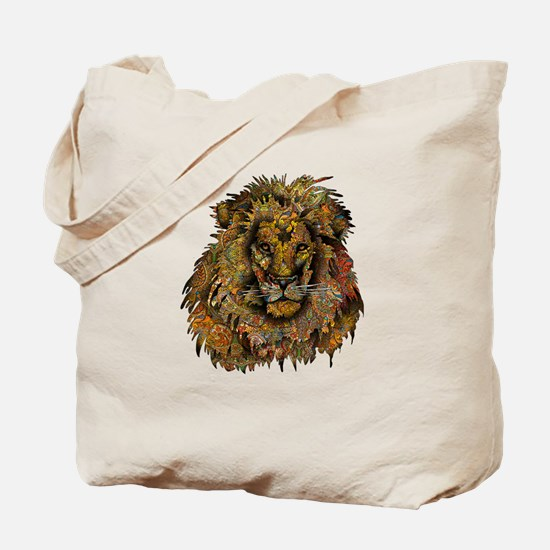 Wild Lion Tote Bag