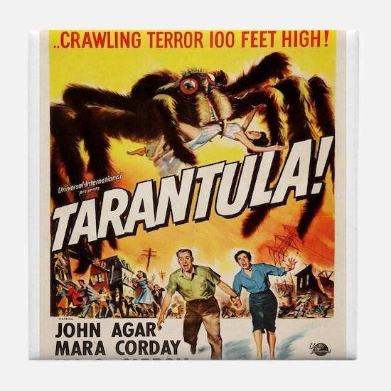 Vintage poster - Tarantula Tile Coaster