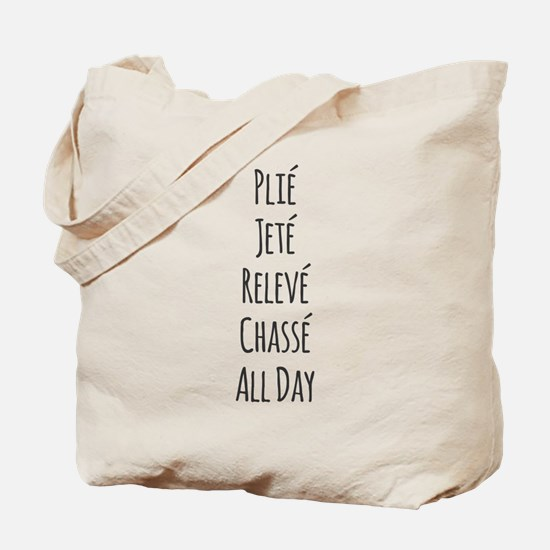 Ballet All Day Tote Bag