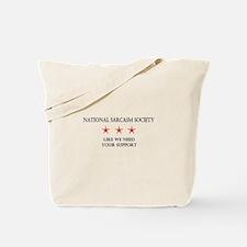 National Sarcasm Society 2 Tote Bag