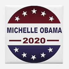 Michelle Obama Tile Coaster