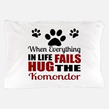 Hug The Komondor Pillow Case