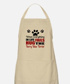 Hug The Kerry Blue Terrier Apron