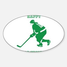 Happy St. Hat Tricks Day Decal