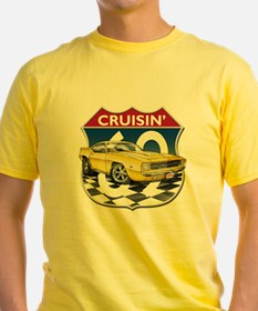 Yellow 69 Camaro T-Shirt
