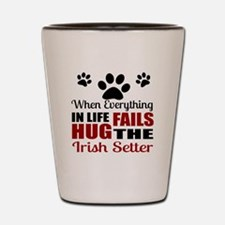 Hug The Irish Setter Shot Glass