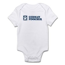 GERMAN PINSCHER Infant Bodysuit