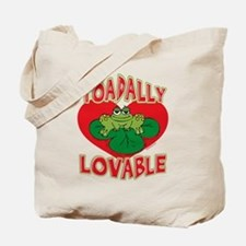 Toadally Lovable Tote Bag