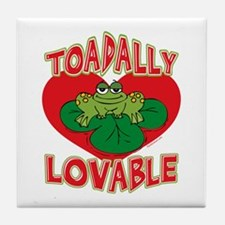 Toadally Lovable Tile Coaster