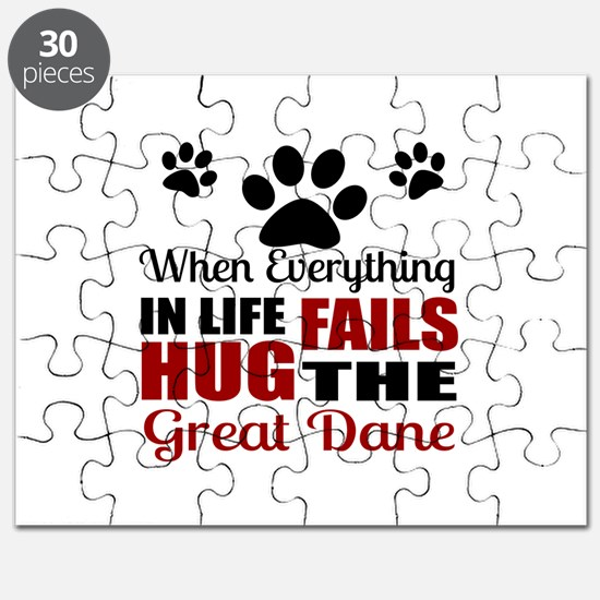 Hug The Great Dane Puzzle