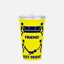 Friend, Best Friend Acrylic Double-wall Tumbler