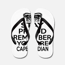 Stay Proud Remember You Are Cape Verden Flip Flops