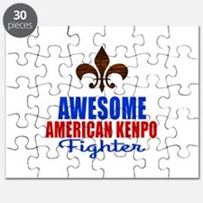 Awesome American Kenpo Fighter Puzzle