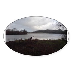 Wier Wood Resevoir Oval Decal