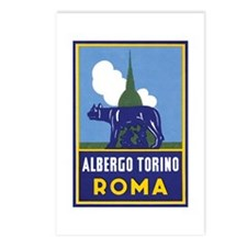 Albergo Torino Postcards (Package of 8)