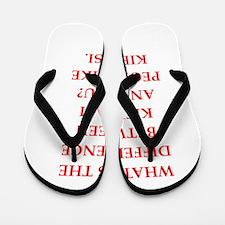 kielbasi Flip Flops
