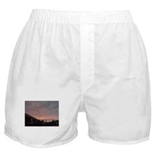 Armagedon Winter Fire Skies Boxer Shorts