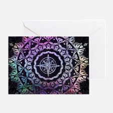 Cool Mandalas Greeting Card