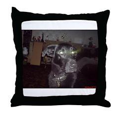 Xander, Demon Dog Eyes Throw Pillow