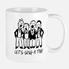 Black and White Quartet Mugs