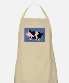 pig drawing Apron