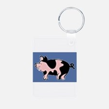 Pig Drawing Keychains