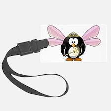 Funny Tux penguin Luggage Tag