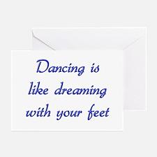 Dancin Greeting Cards