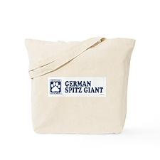 GERMAN SPITZ GIANT Tote Bag