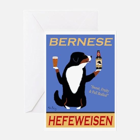 Bernese Hefeweisen Greeting Card