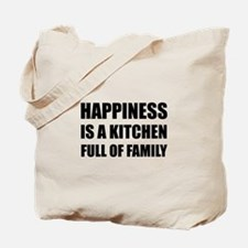 Happiness Kitchen Full Family Tote Bag