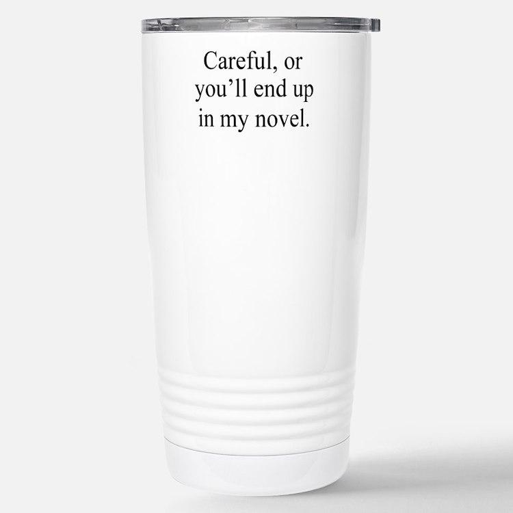 Cute Novel Travel Mug