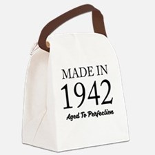 Funny Birthday party Canvas Lunch Bag
