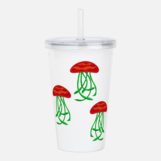 TENTACLES Acrylic Double-wall Tumbler