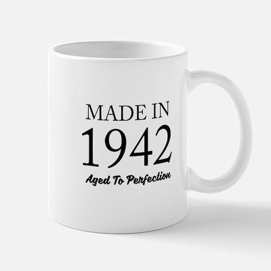 Made In 1942 Mugs