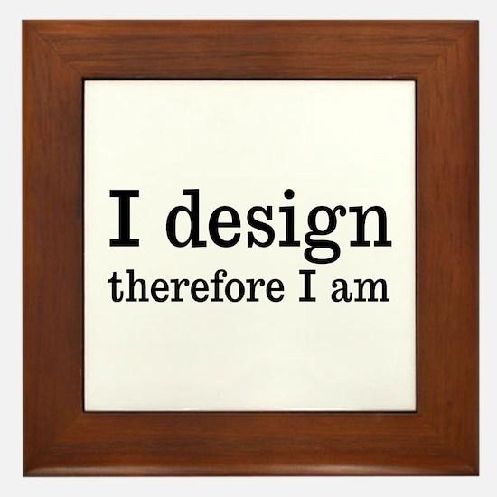 I Design Framed Tile