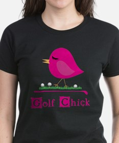 Golf Chick Too - T-Shirt