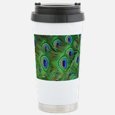Beautiful Peacok feathe Travel Mug