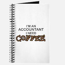 Accountant Need Coffee Journal