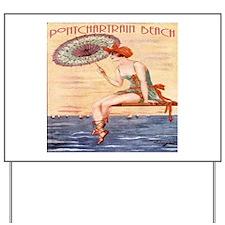 Pontchartrain Beach Poster 2 Yard Sign