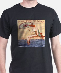 Pontchartrain Beach Poster 2 T-Shirt