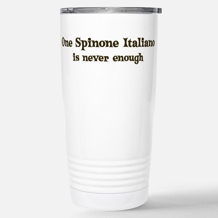Cute Spinone italiano design Travel Mug